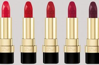 Nowe matowe szminki Dolce & Gabbana: Miss Dolce, Dolce Rosa, Dolce Mamma.