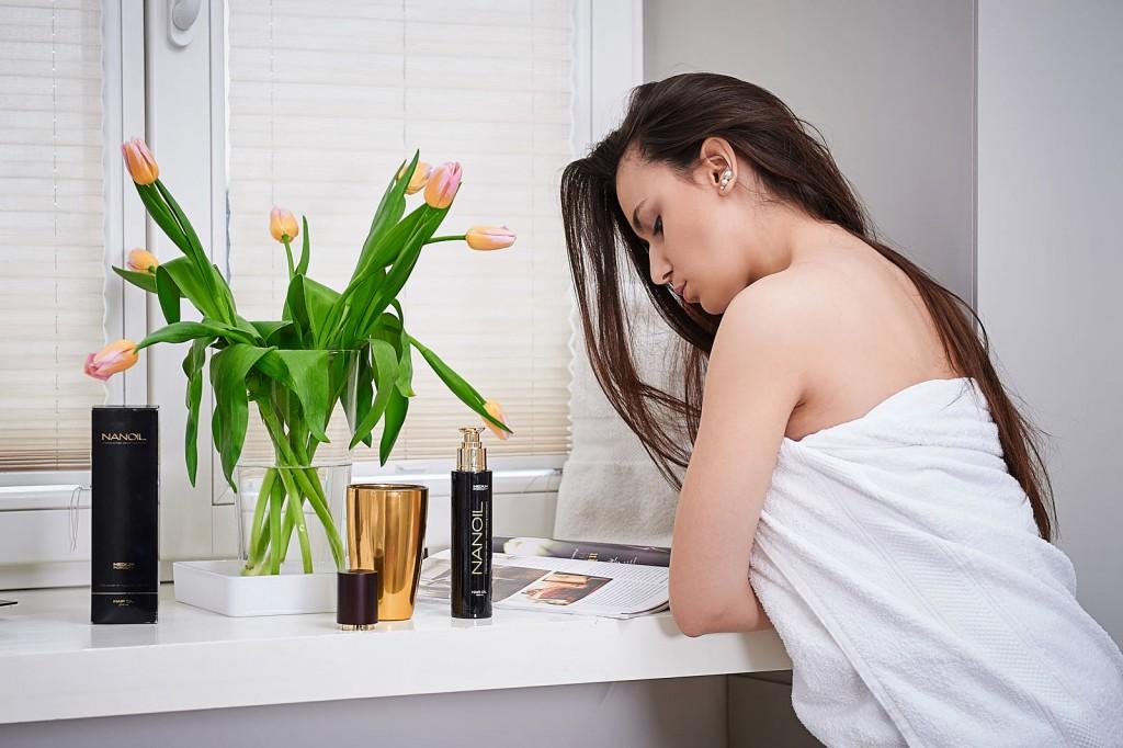 Olejek do włosów Nanoil zapewnia specjalistyczną pielęgnację