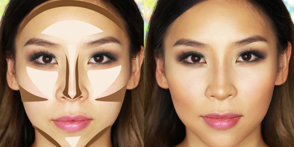 Jak modelować kształt twarzy za pomocą podkładu?