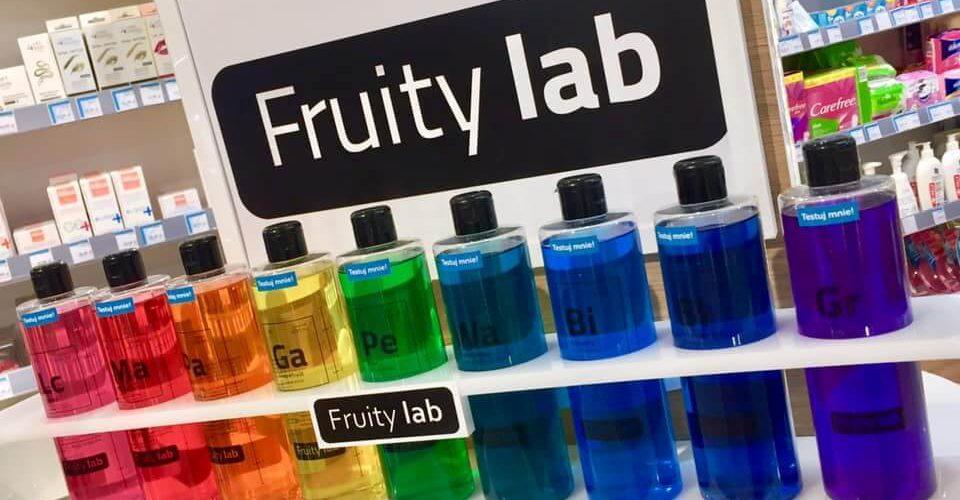 Chemia piękna, czyli żele pod prysznic FRUITYlab od Kontigo